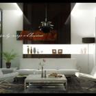 Beautiful Modern Glass Wall Sitting Room