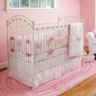 Beautiful Pink Baby Nursery Bedding