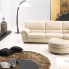 Beautiful White Living Room by Natuzzi