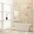 Beautiful White and Beige Bathroom Ideas