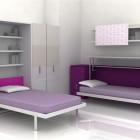 Beautiful and Cool Teen Room for Small Space