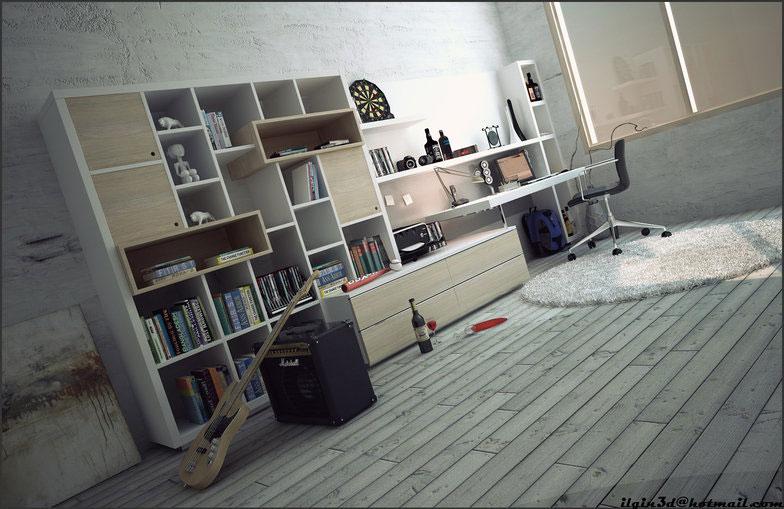 Best Teen Room Workspaces Design 2011