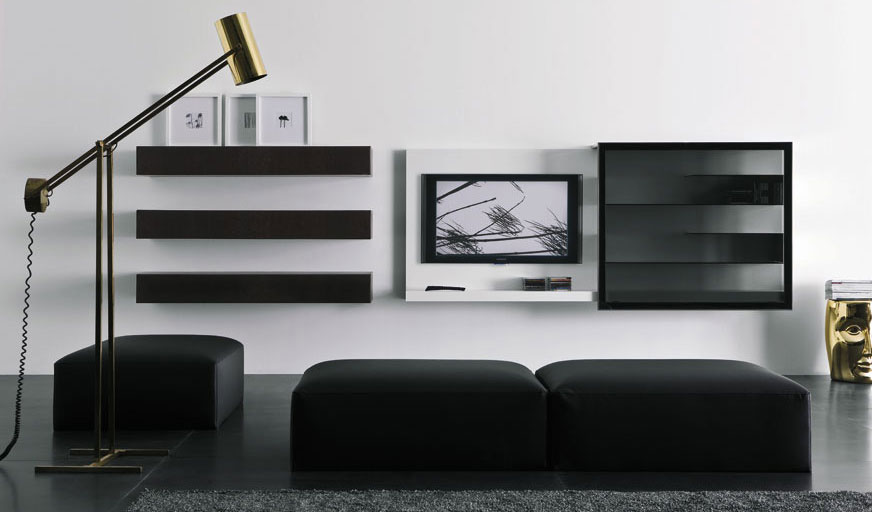 Black Spazio Box Vision Furniture