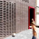 Brick Wall and Red Door House BVA