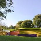 Bright Color Pavilion Design