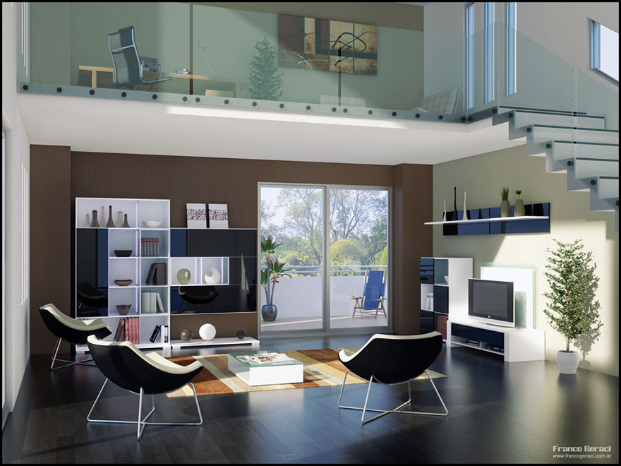 Bright Loft Style Living Space