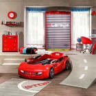 Car Racing Bedroom Furniture for Boys