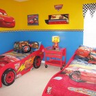 Children's Cartoon Cars Bedding Ideas