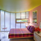 Colorful Main Bedroom with Nice Lighting