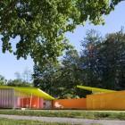 Colorful Shelter Island Pavilion