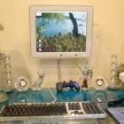 Computer Setup for Kids Room