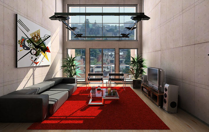 Modern and Colorfully Living Rooms Inspiration 2011 Contemporary ...