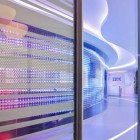 Futuristic Interior of IBM Executive Office in Rome
