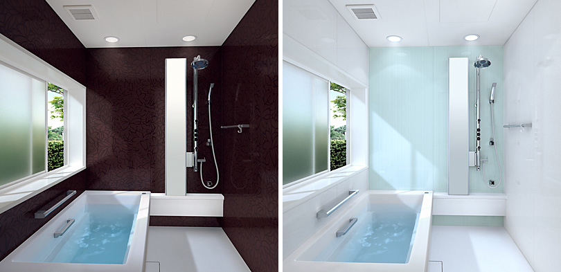 Small but spacious bathtubs for tight spaces bathroom for Tight space bathroom designs
