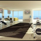 Cool Home Gym in Loft Design Ideas