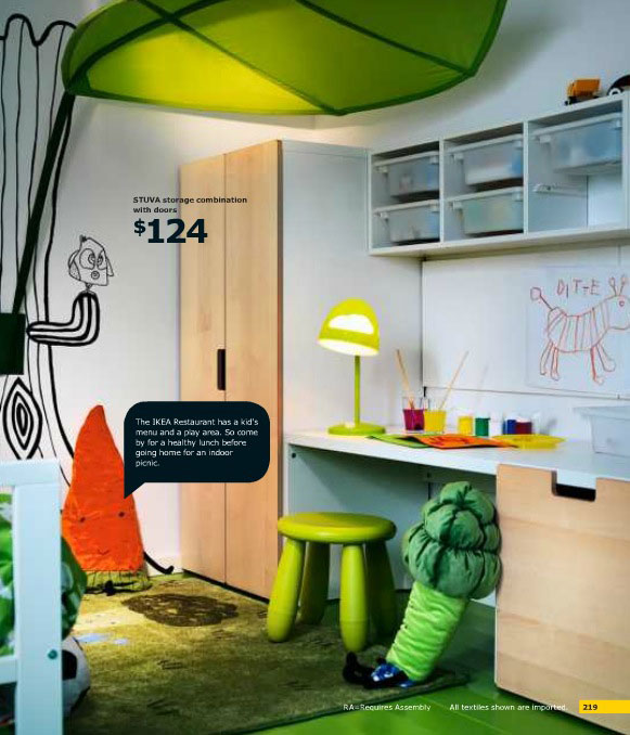 Cool IKEA Kids Green Play Area