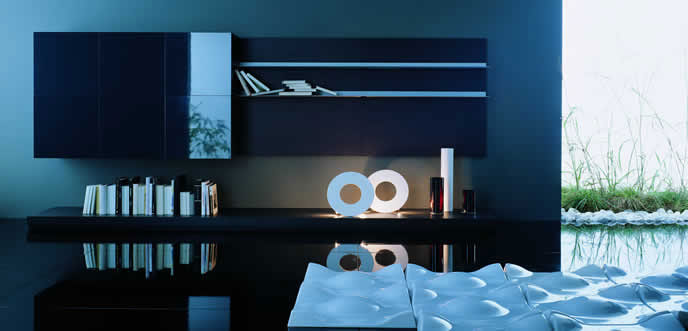 Cool Wall Unit Lighting Ideas
