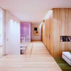 Cool Wooden Walls and Bookshelf Design Ideas 2011