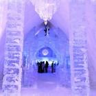 Corridor Ice Hotel Canada