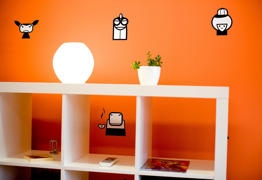 Cubby Wall Decals Decorations