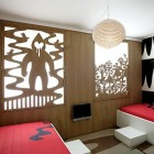 Doble Bed Hotel Room with Lanter Decoration