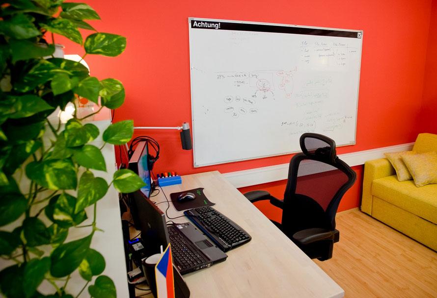 Dry Erase Board Office Lounge Ideas