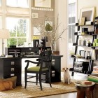 Elegant Home Office Storage Design