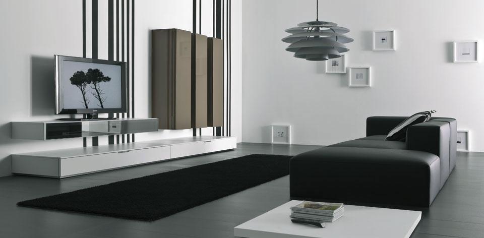 Elegant Modern Wall Modular Storage System