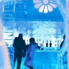 Exotic Ice Hotel Lounge Design