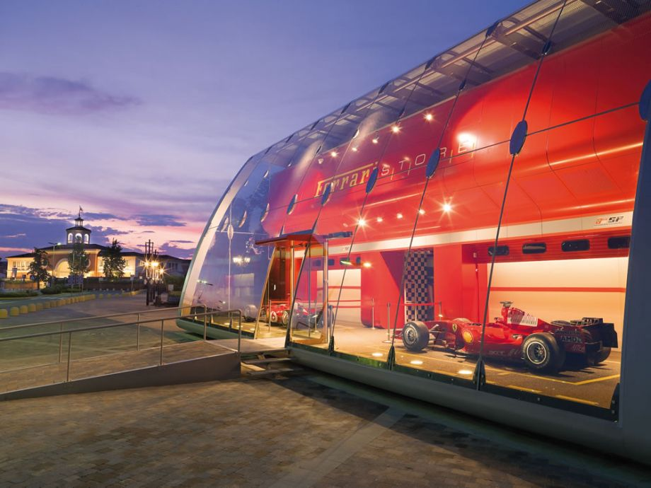 Ferrari Store Showroom Design Ideas