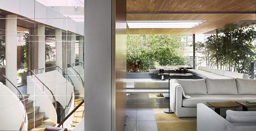 Fresh Courtyar in Modern Home