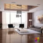 Futuristic Living Room Design Concept