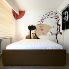 Geisha Artistic Mural Hotel Room