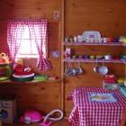 Girls Playhouse Interior Details