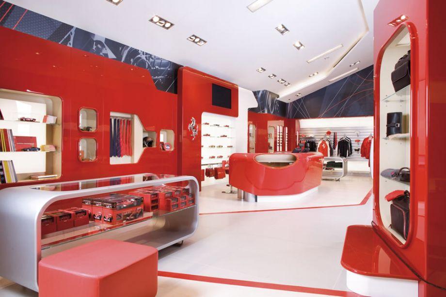 Great Design Interior Ferrari Factory Store