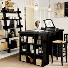 Home Storage Black Boxes Design
