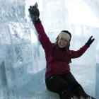 Ice Slide Hotel de Glace Canada