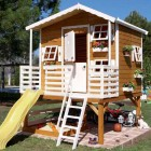 Wooden Outdoor Playhouses for Kids