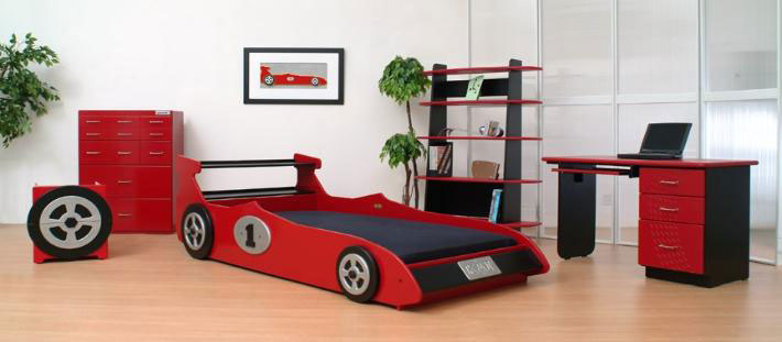 Kids Race Car Beds Design Ideas