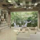 Living Room 3D Pixel Wallpaper Decoration