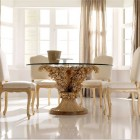 Luxury Glass Top Dining Table Design Ideas