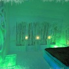 Luxury Ice Hotel Bedroom