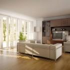 Minimalistic Open Living Room 2011