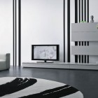 Modern Box Cabinet for LCD TV in Living Room
