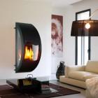 Modern Fireplace Mantels in Wall