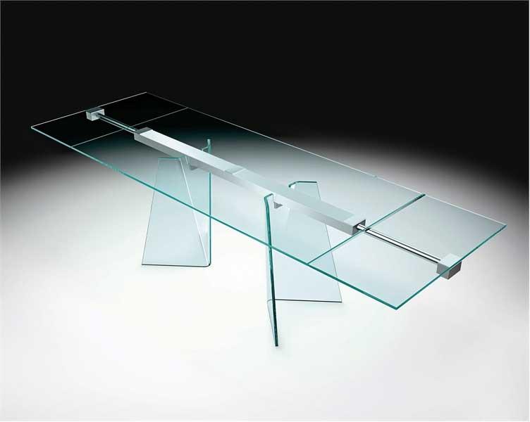 Modern Full Glass Table Design Ideas