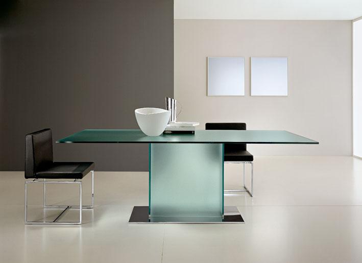 Modern Glass Box Dining Table Design Ideas 2011