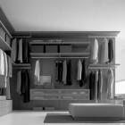 Modern Grey Wadrobe Design Ideas