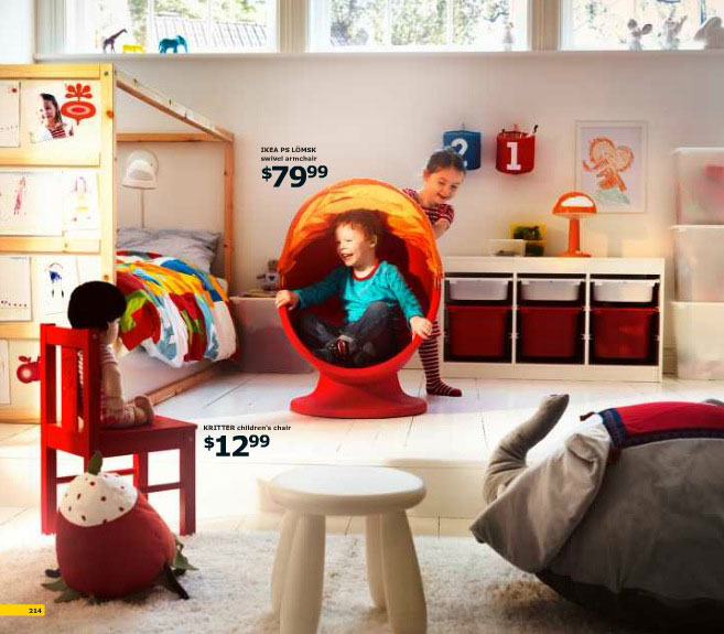 Modern ikea kid play room inspirations interior design ideas for Play room for kids