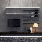 Modern Wall Unit LCD TV Set Ideas